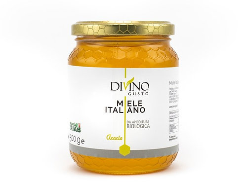 Organic Acacia Honey 500gr