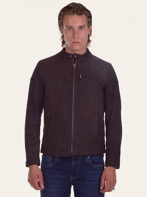 Elton Gold Oleato Leather Jacket