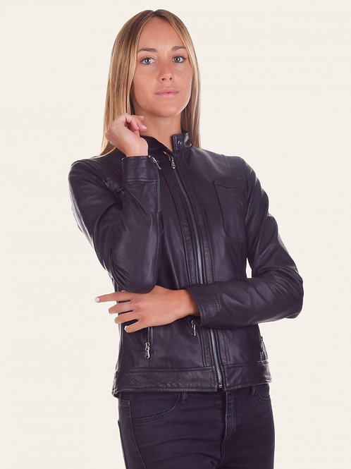 Violante Leather Jacket