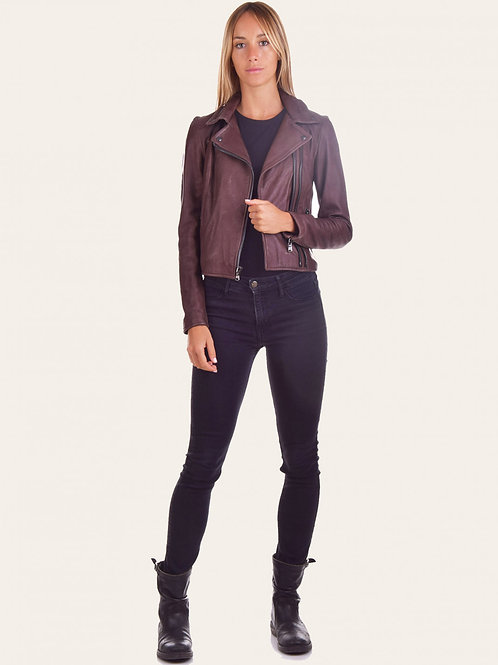 Gaia Chiodo Leather Jacket