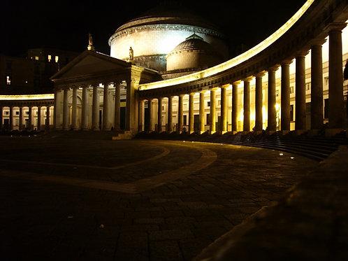 I colori serali di Napoli