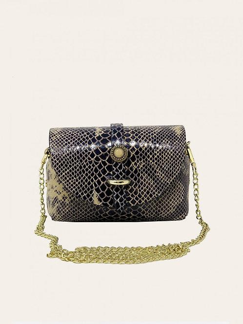 Small Bubble Python Bag