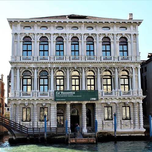 Venice CA' REZZONICO, THE HOUSE OF A VENETIAN NOBLE FAMILY