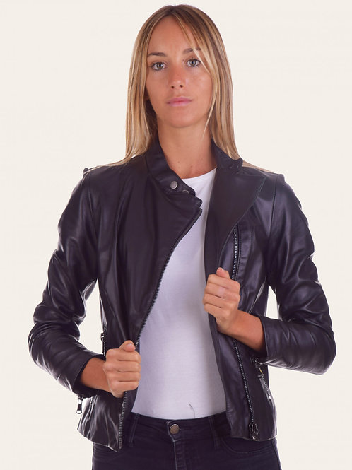 Fabiola Leather Jacket