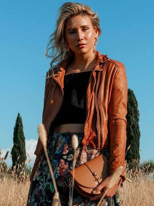 Gaia  Vintage Leather Jacket
