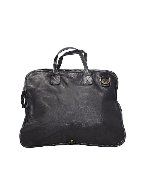 Lucca leather laptop holder