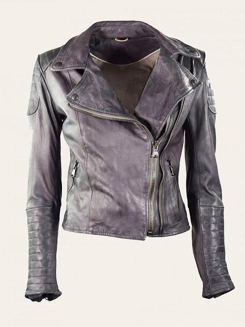 Gaia Bike Vintage Leather Jacket