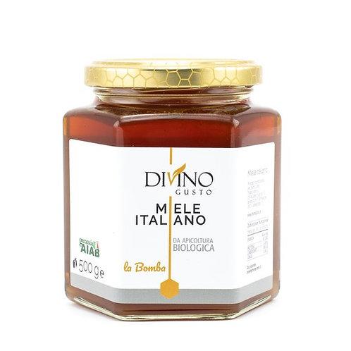 "Organic Honey ""BOMB""  500gr"