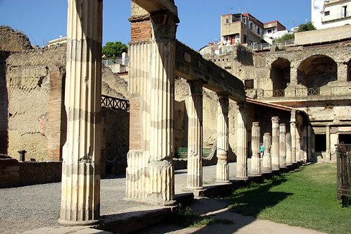 Back to ancient Rome: Pompeii & Herculaneum