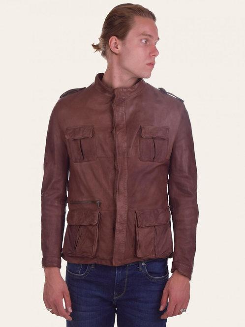Francesco Vintage Leather Jacket