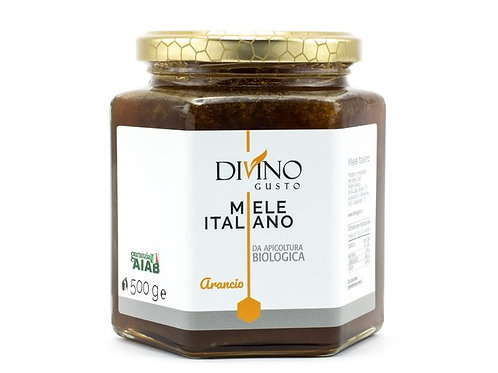 Organic Orange Honey 500gr