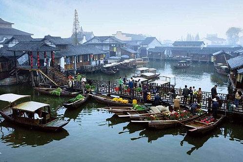 Wuzhen - La grande città d'acqua