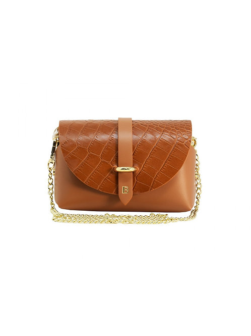 Bubble Touch of Cocco Leather Bag