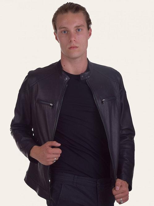 Elton Gold Leather Jacket
