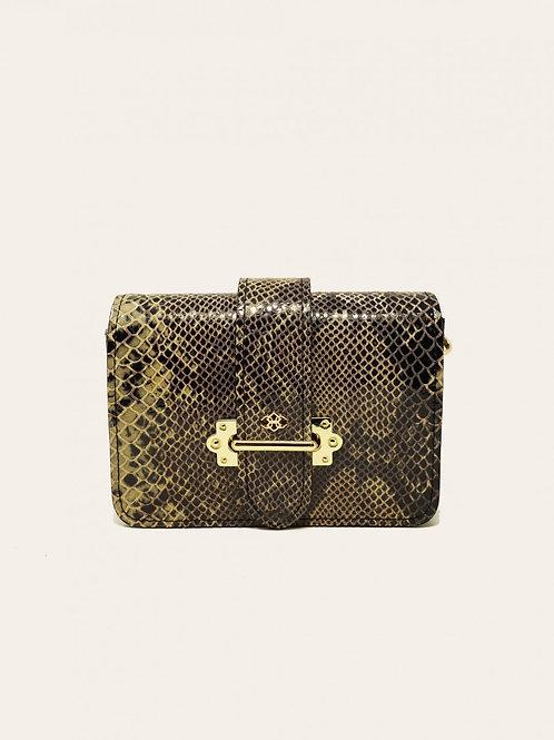 Coconut 01 Python Leather Bag