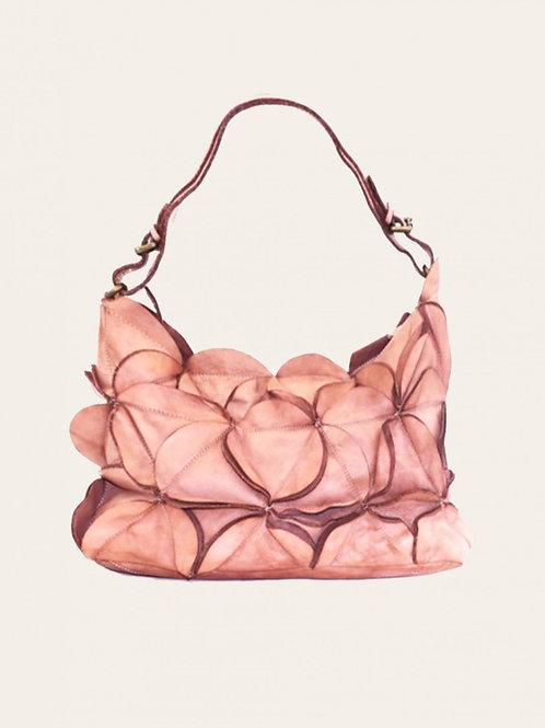 Flower Small Leather Bag