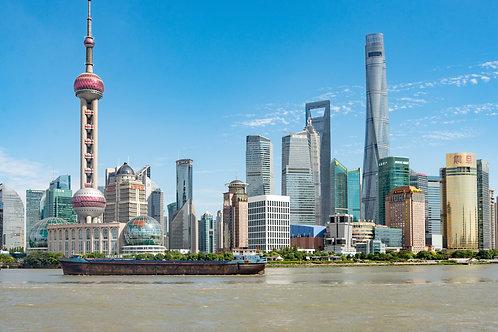 Crociera sullo Huangpu @ SHANGHAI