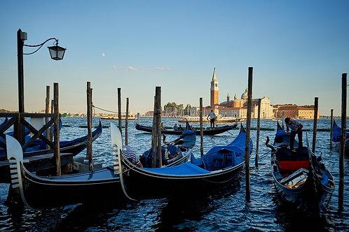 Venice BY BOAT OR GONDOLA