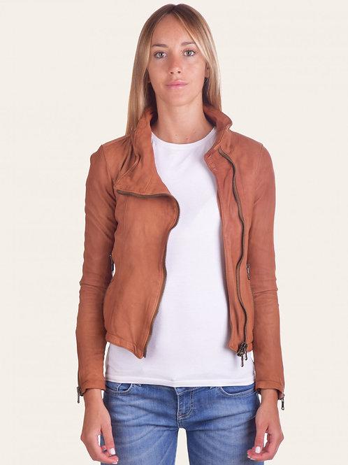 Sally Bis Vintage Leather Jacket