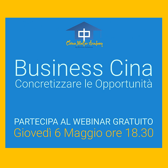 Business Cina: Concretizzare le opportunità