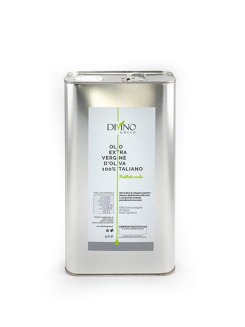 Extra Virgin Olive Oil Divino Gusto - 5Lt Tin Box