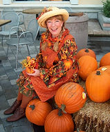 A delightful Pumpkin Farmer, she brings her tales from the pumpkin patch, and fall magic and music.