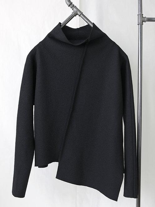 GRAZ high neck wool sweater