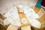 Table, chair and linen packages