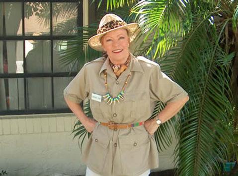 Safari Sue All About Entertainment Dinosaur birthday party