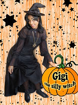 Keep the kids moving with interactive games, music, contests and fun with GiGi the Silly Witch!