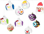 Children will have a blast as they decorate an ornament they can hang on the tree!