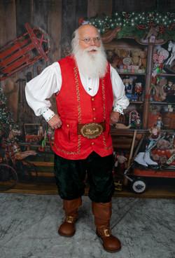 Santa Noel Red Vest www.allaboutentertainment.com