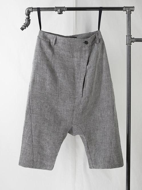 PRAGUE low crotch shorts