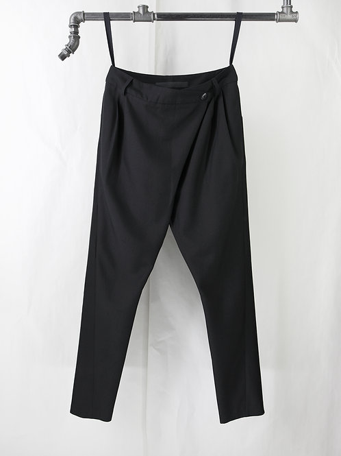 OXFORD pleated crotch pants