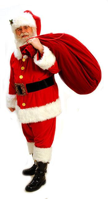 Santa Rick with sack