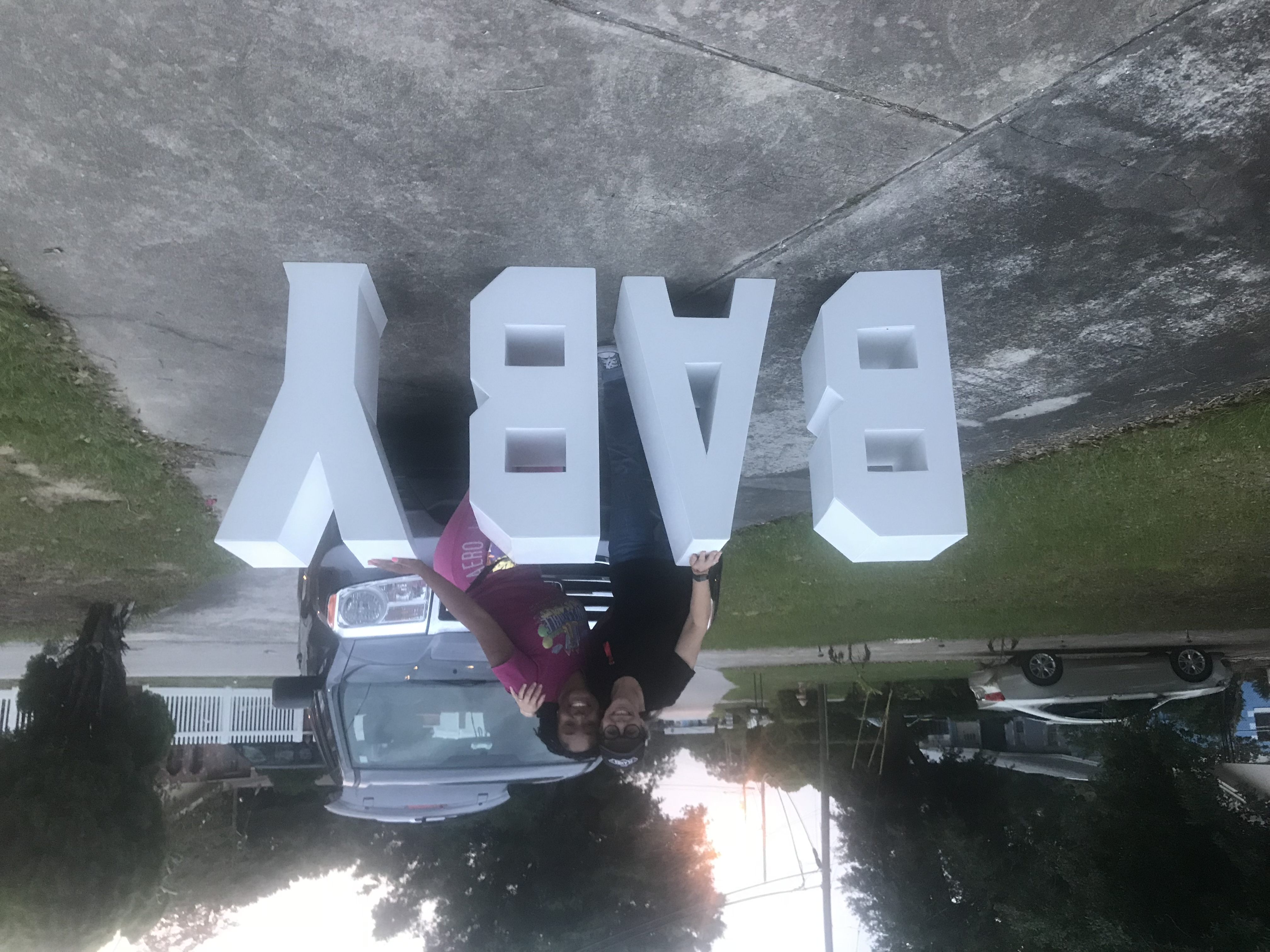 Giant Baby Letters