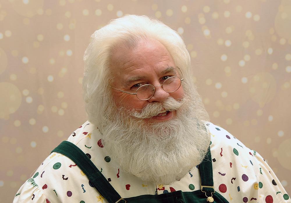 Santa Rick head shot
