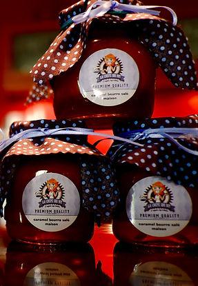 Caramel beurre salé maison & Chocolat maison La Crêpe Qui Rit