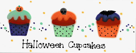 Design: Halloween Cupcakes