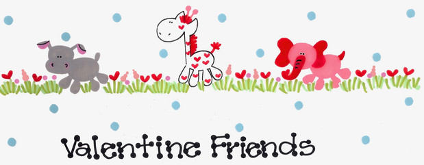 Design: Valentine Friends