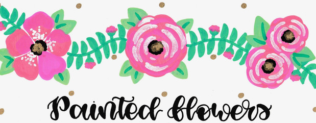 Design: Painted Flowers