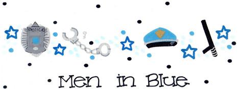 Design: Men in Blue