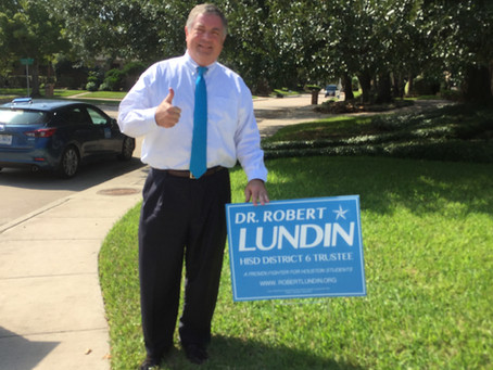 Houston City Council Member Greg Travis has endorsed Robert!