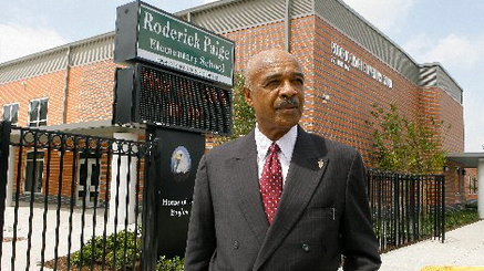 BIG NEWS ... Former U.S. Secretary of Education Dr. Rod Paige Endorses Robert!