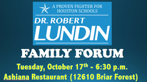 "Join us at one of our upcoming ""Family Forums!"""