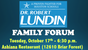 """Join us at one of our upcoming """"Family Forums!"""""""