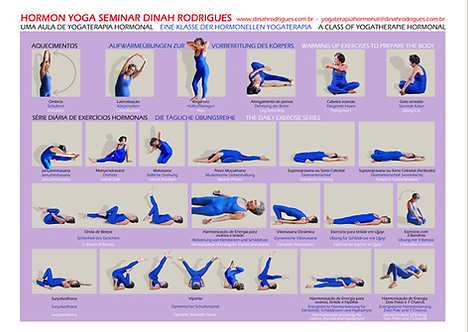 POSTER OF REFERENCE FOR HORMONE YOGA FOR WOMEN