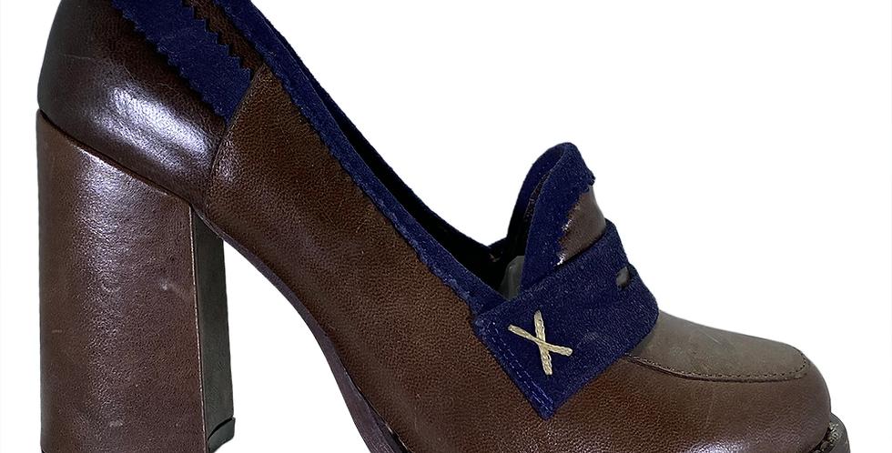 Zapato Tacón Ancho - 6651-1