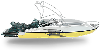WAVEBOAT 525 WAKE