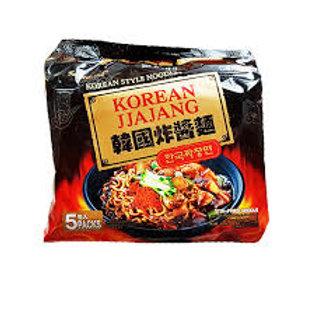 (5 Pack x 120g) 한국짜장면/Korean Jjajang Noodle